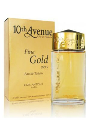 10th Avenue Fine Gold 999.9 10th Avenue Karl Antony para Hombres