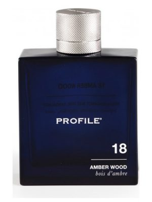 18 Amber Wood Profile para Hombres