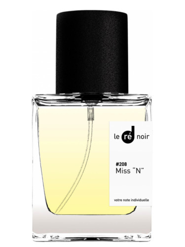 #208 Miss «N» Le Ré Noir para Mujeres