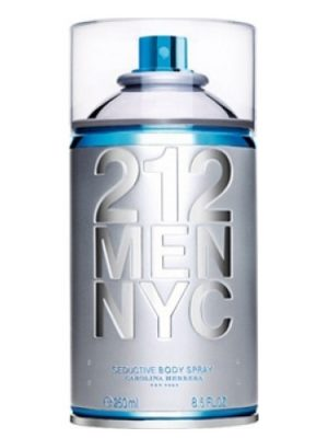 212 Men NYC Body Spray Carolina Herrera para Hombres