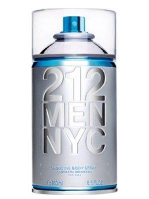 212 Men NYC Body Spray Carolina Herrera para Hombres