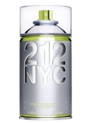 212 NYC Body Spray Carolina Herrera para Mujeres