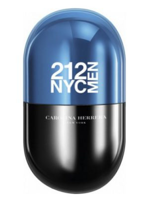212 NYC Men Pills Carolina Herrera para Hombres