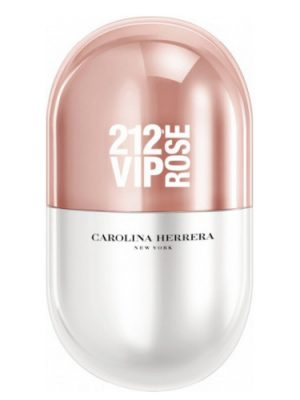 212 VIP Rose Pills Carolina Herrera para Mujeres