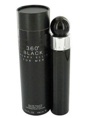 360° Black for Men Perry Ellis para Hombres