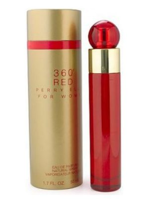 360° Red Perry Ellis para Mujeres