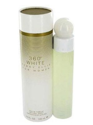360° White Perry Ellis para Mujeres
