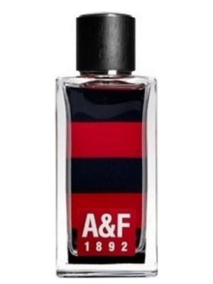 A & F 1892 Red Abercrombie & Fitch para Hombres