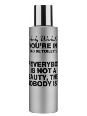 Andy Warhol's You're In Comme des Garcons para Hombres y Mujeres
