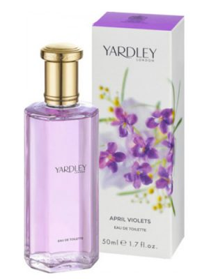 April Violets Contemporary Edition Yardley para Mujeres