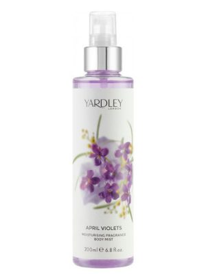 April Violets Fragrance Mist Yardley para Mujeres