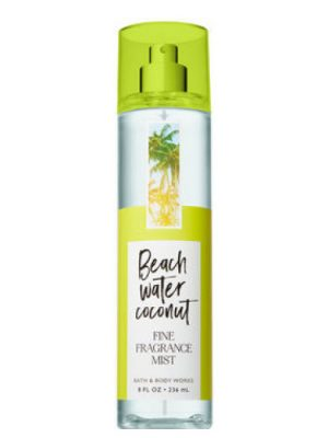 Beach Water Coconut Bath and Body Works para Mujeres