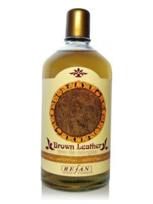 Brown Leather Refan para Hombres y Mujeres