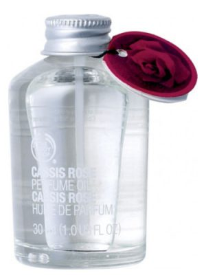 Cassis Rose Perfume Oil The Body Shop para Mujeres