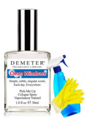 Clean Windows Demeter Fragrance para Hombres y Mujeres
