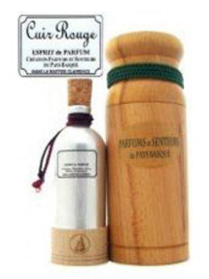 Cuir Rouge Parfums et Senteurs du Pays Basque para Hombres