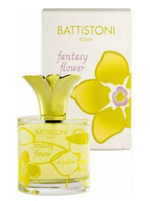 Fantasy Flower In Yellow Battistoni para Mujeres