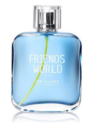 Friends World For Him Oriflame para Hombres
