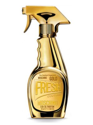 Gold Fresh Couture Moschino para Mujeres