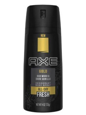 Gold (Oud Wood and Dark Vanilla) Axe para Hombres y Mujeres
