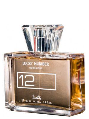 Lucky Number 12 Dzintars para Mujeres
