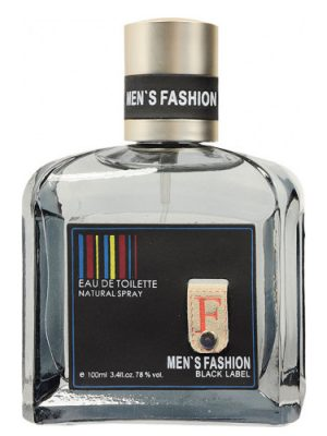Men's Fashion Black Label Parfums Genty para Hombres