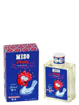 Miso Pretty Petal Citrus Splash Blue Q para Mujeres