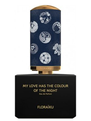 My Love Has the Colour of the Night Floraïku para Hombres y Mujeres