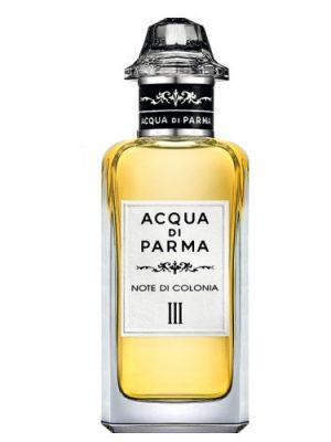 Note di Colonia III Acqua di Parma para Hombres y Mujeres