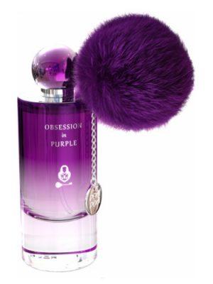 Obsession In Purple Pom Pom para Mujeres