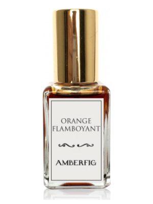 Orange Flamboyant Amberfig para Hombres y Mujeres