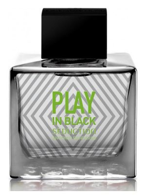 Play In Black Seduction for Men Antonio Banderas para Hombres
