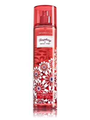 Raspberry & Sweet Mint Bath and Body Works para Mujeres
