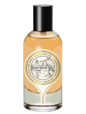 Seine River Mint 塞纳河晨雾 Scents & The City 寻味地图 para Hombres y Mujeres