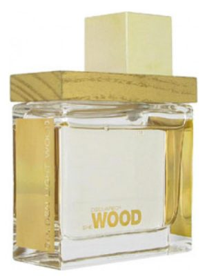 She Wood Golden Light Wood DSQUARED² para Mujeres