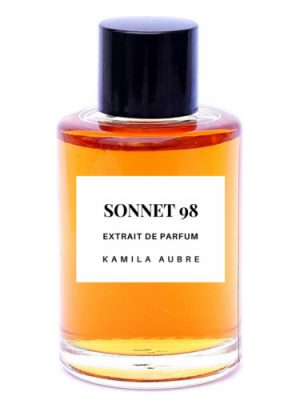 Sonnet 98 Kamila Aubre Botanical Perfume para Hombres y Mujeres