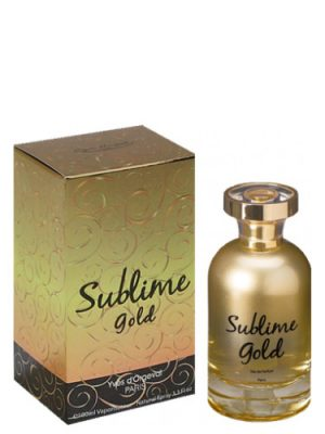 Sublime Gold Yves d'Orgeval para Mujeres