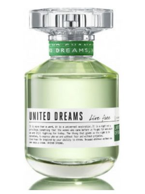 United Dreams Live Free Benetton para Mujeres