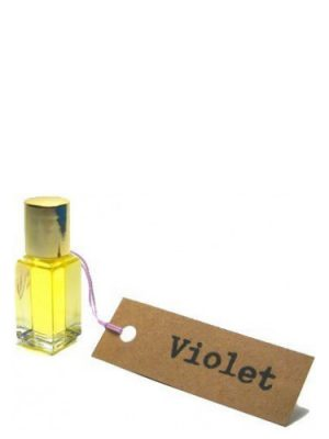 Violet Perfume Oil Scent by the Sea para Mujeres