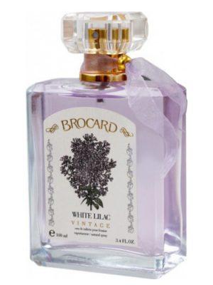 White Lilac Vintage Brocard para Mujeres