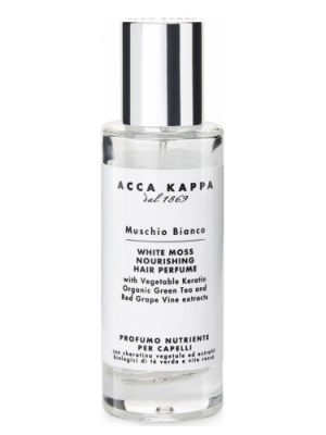 White Moss Nourishing Hair Perfume Acca Kappa para Hombres y Mujeres