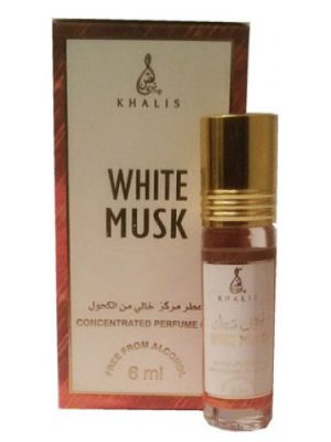 White Musk Khalis para Hombres y Mujeres