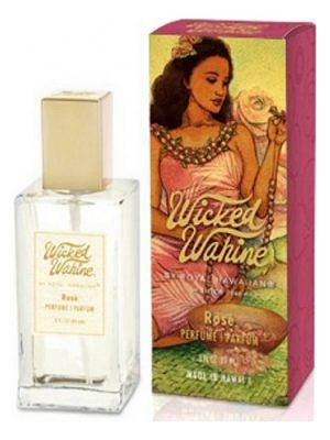 Wicked Wahine Rose Royal Hawaiian para Mujeres