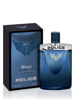 Wings Blue Police para Hombres