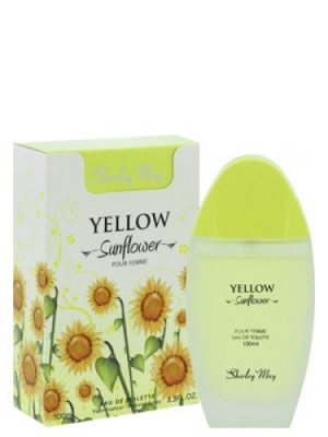 Yellow Sunflower Shirley May para Mujeres