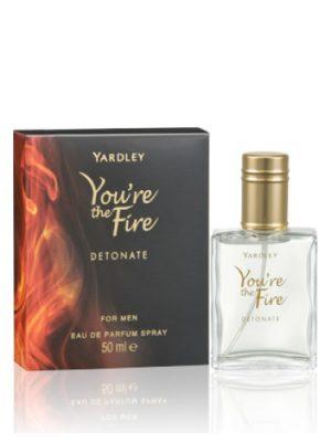 You're the Fire Detonate Yardley para Hombres