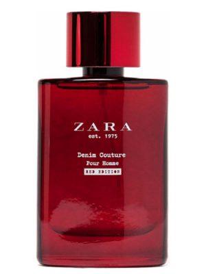 Zara est 1975 Denim Couture Pour Homme Red Edition Zara para Hombres